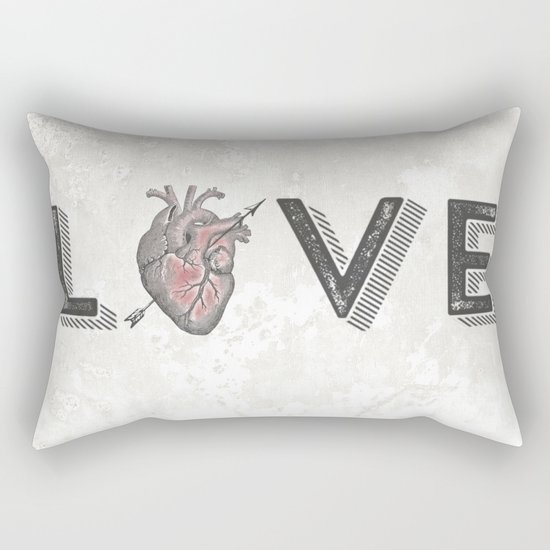 LoVE Rectangular Pillow