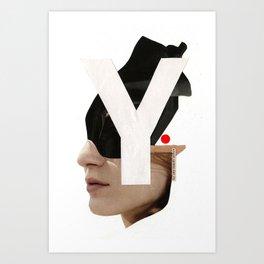 Y Art Print