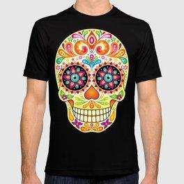 Día de Muertos Sugar Skull (Fiesta) T-shirt