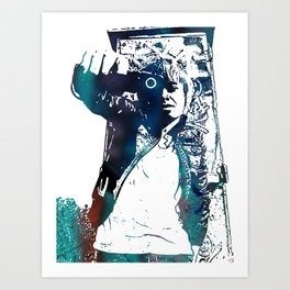 Seraphin+ Art Print