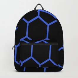 Black and Blue Backpack
