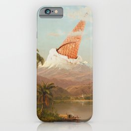 MOUNT VANILLA iPhone Case