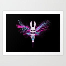 Little Moth Art Print
