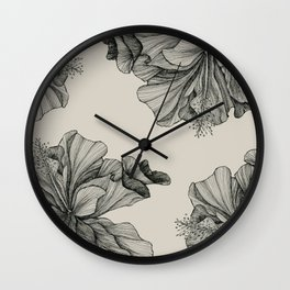 flor pattern Wall Clock