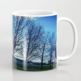 A line of Trees Coffee Mug