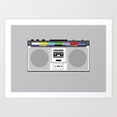 1 kHz #9 Art Print