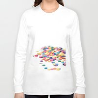 sprinkles Long Sleeve T-shirts featuring Sprinkles by Dena Brender Photography