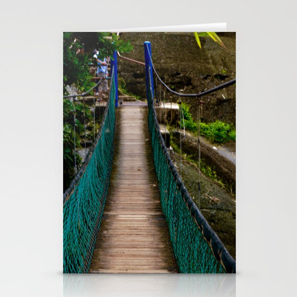 Swinging Bridge -Guam Stationery Cards