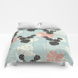 Tropical pattern 052 Comforters