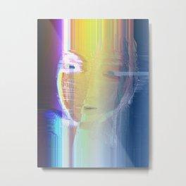 Ella / She / Portrait 2 - Column Metal Print
