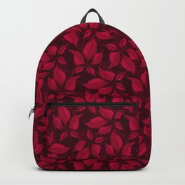 Autumn Leaves (Garnet) Backpack