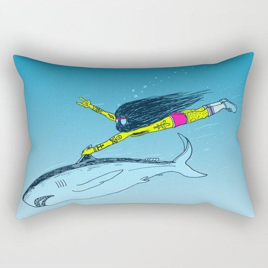 Shark Yeah Rectangular Pillow