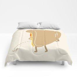 Pee-zza Comforters