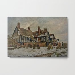 Star And Eagle Hotel Goudhurst Metal Print