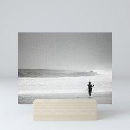 Surfer Gonna Surf Mini Art Print