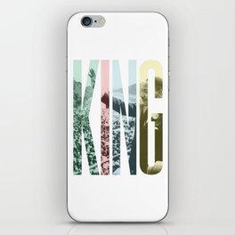 King - Martin Luther King iPhone Skin