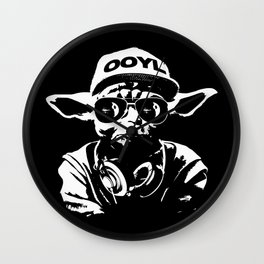 Only Once You Live Wall Clock