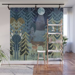 the secret forest Wall Mural