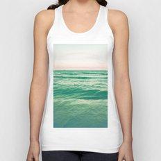 Pastel ocean Unisex Tank Top