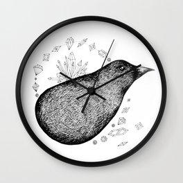 Lump bird Wall Clock