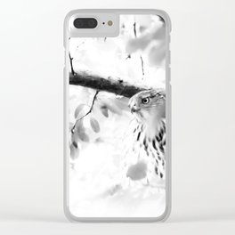 PLOTTING Clear iPhone Case