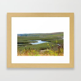 Halfway There Framed Art Print