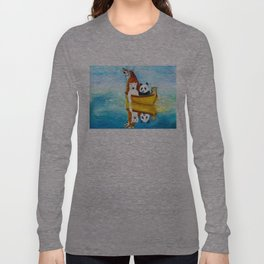 Herbert at Sea Long Sleeve T-shirt