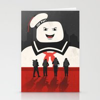 ghostbusters Stationery Cards featuring Ghostbusters by Bill Pyle