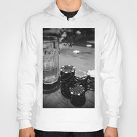 poker Hoodies featuring Poker Time by Eduard Leasa Photography