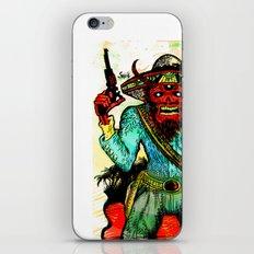 pistolero iPhone & iPod Skin
