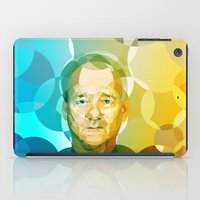 bill murray iPad Cases featuring Bill by Tom Johnson