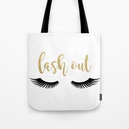 Lash Out Tote Bag