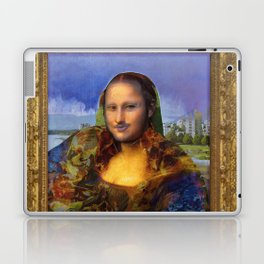Mona (Kevin) Lisa : Satire + Contemporary Fine Art Laptop & iPad Skin