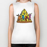 keith haring Biker Tanks featuring Keith Haring & Turtle by le.duc