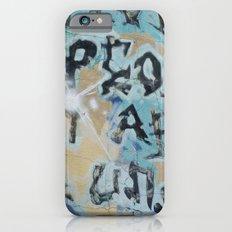sf graffiti iPhone 6s Slim Case