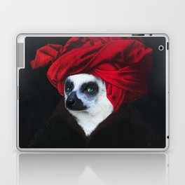 Portrait of a Madagascar Bear Laptop & iPad Skin