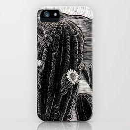 Cactus Beach. iPhone Case
