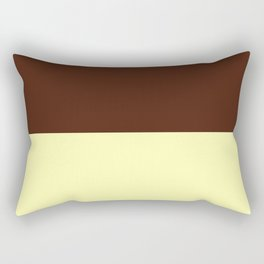 Choc Vanilla Rectangular Pillow