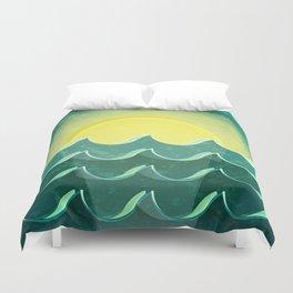 Sun and sea Duvet Cover