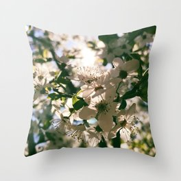 spring is inspiration Throw Pillow