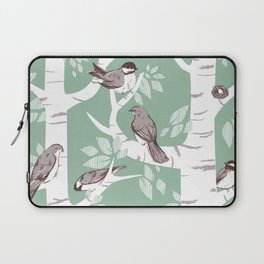 Birch Birds Laptop Sleeve