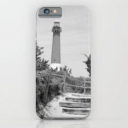 Barnegat Lighthouse Pathway iPhone Case