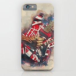 Eddie Van Halen's electric guitar iPhone Case