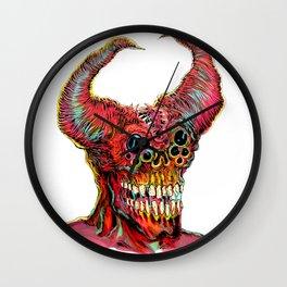 Demon Head Wall Clock