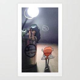 mosntuosidades siren Art Print