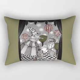 Alice's After Tea Concert Rectangular Pillow