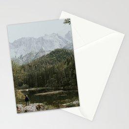Mountain lake vibes II - Landscape Photography Stationery Cards