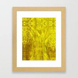 Triangular Tree Framed Art Print