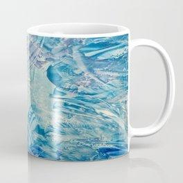 Ice Ice Baby Encaustic Coffee Mug
