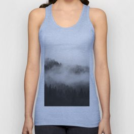 Foggy Forest Unisex Tank Top